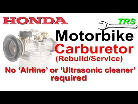 Fix Engine Surging Motorcycle Carburetor/Without Airline or Ultrasonic cleaner
