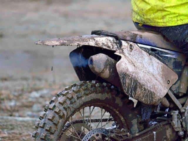 How to repair a two-stroke exhaust leak.