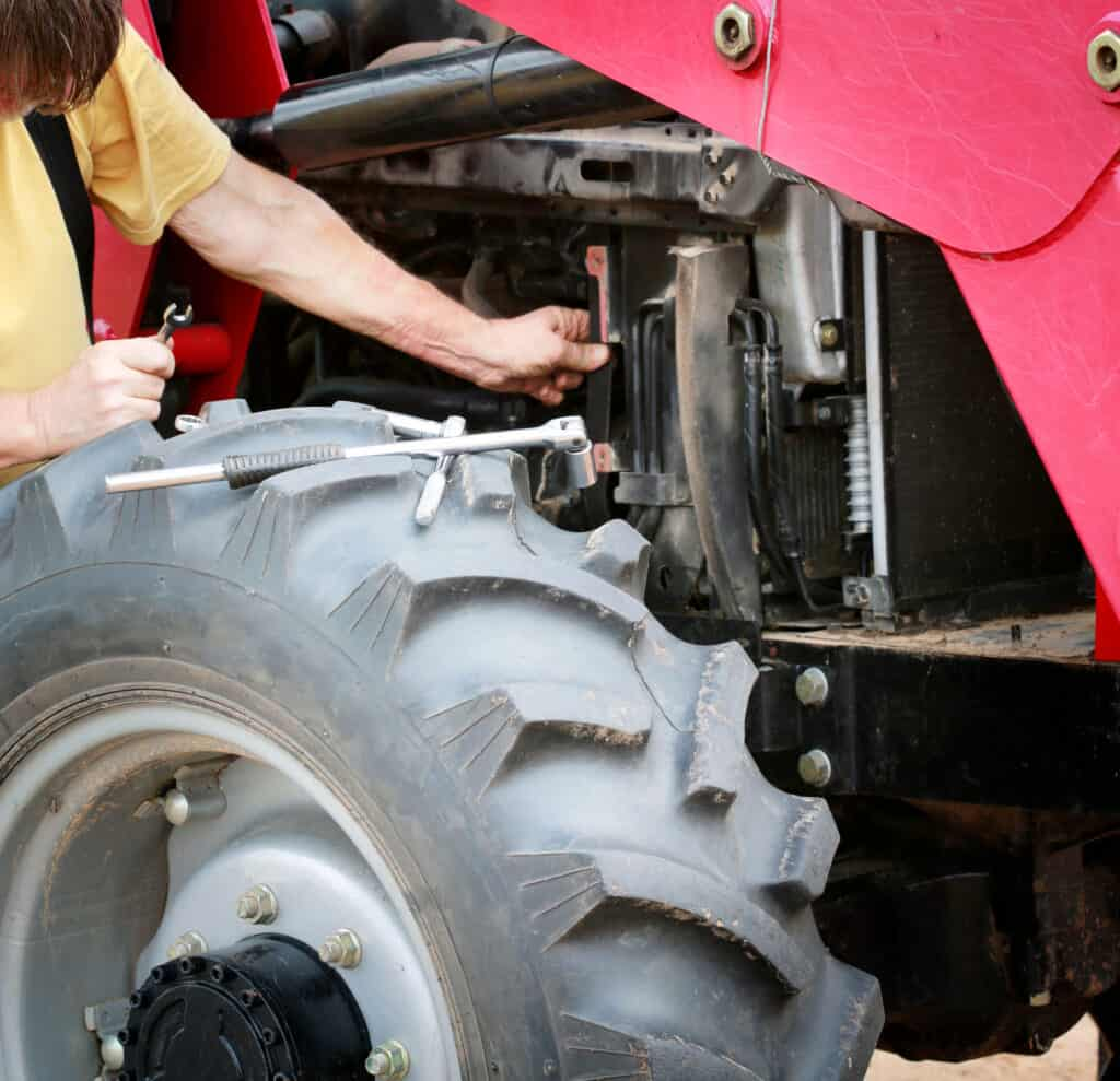 Tractors can overheat due to issues with the coolant, oil level issues, and even issues with faulty temp gauges.