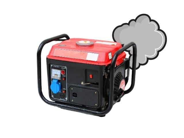 How to troubleshoot a generator that backfires and won't start.